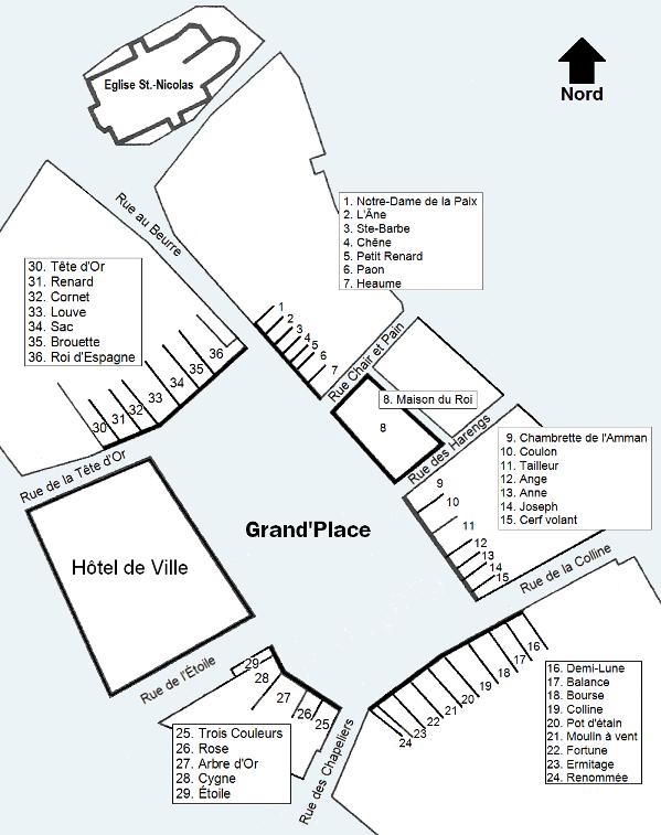 Bruxelles : Grand-Place, Parc Royal, Manneken'Pis... 17030212025719075514886233