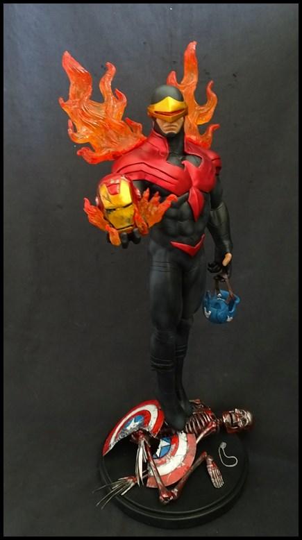 Cyclops phoenix statue 1/4 17030405203516083614891001