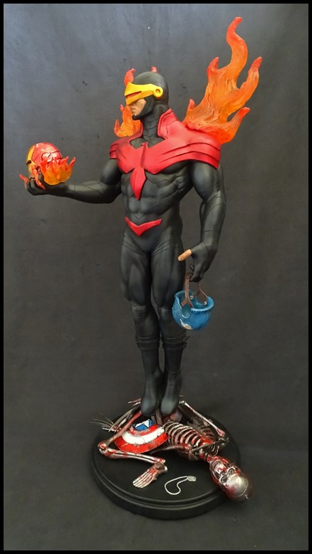 Cyclops phoenix statue 1/4 17030405203816083614891004