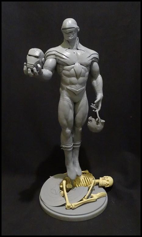 Cyclops phoenix statue 1/4 17030405204716083614891014