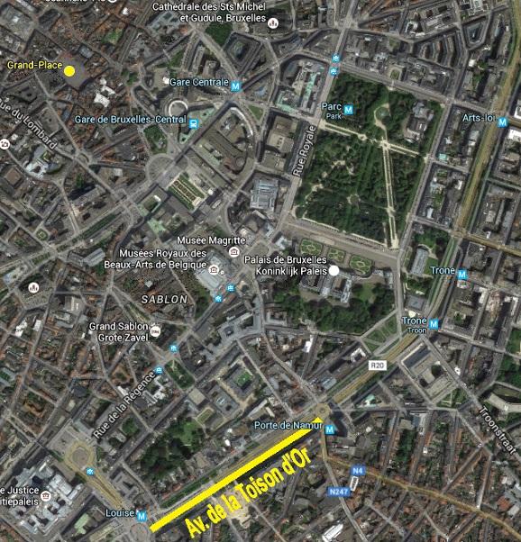 Bruxelles : Grand-Place, Parc Royal, Manneken'Pis... 17030601382719075514894853