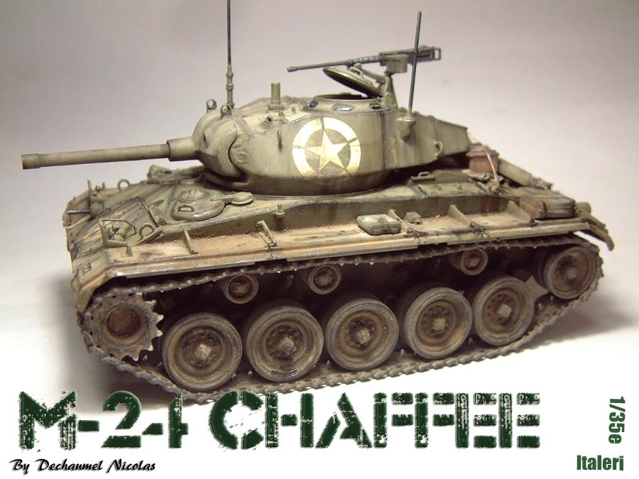 M-24 Chaffee - 1/35e - [Italeri] 1703060728454769014895711