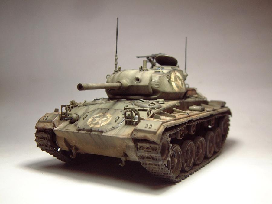 M-24 Chaffee - 1/35e - [Italeri] 1703060730024769014895716