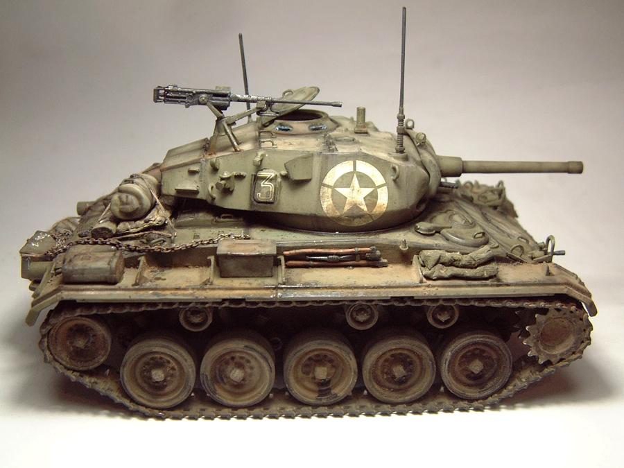 M-24 Chaffee - 1/35e - [Italeri] 1703060733154769014895749
