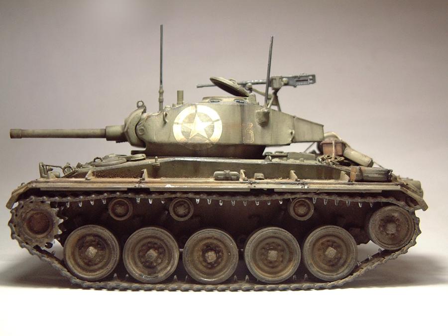 M-24 Chaffee - 1/35e - [Italeri] 1703060733504769014895754