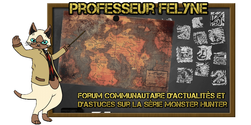 Professeur Felyne : Forum d'astuces Monster Hunter 17030801144521395314903118