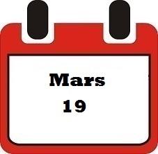 Mars 19