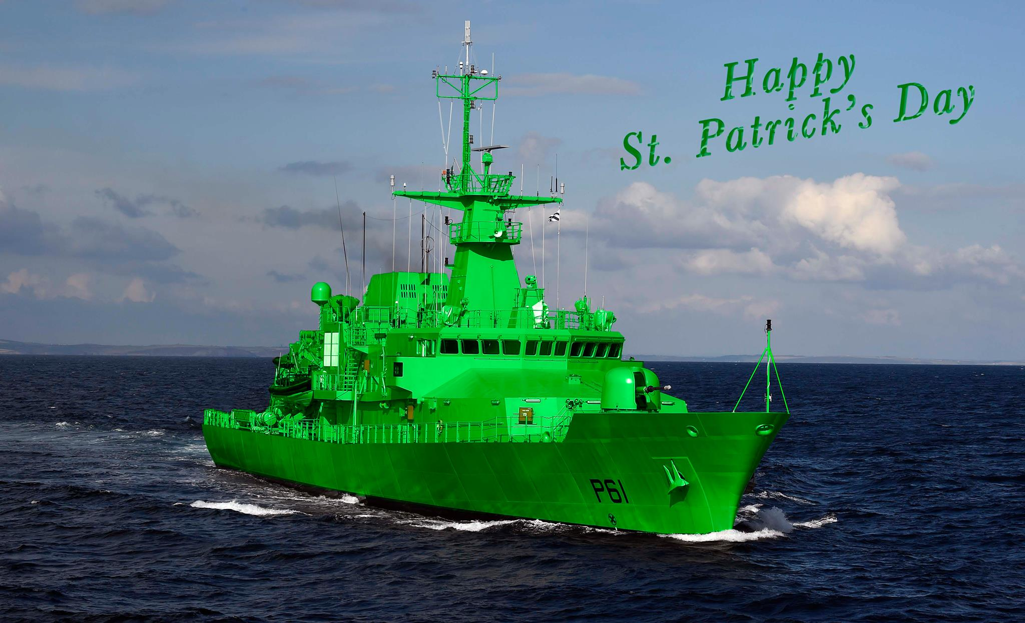 Irish Naval Service - Force Navale Irlandaise 17031712411120674414924840