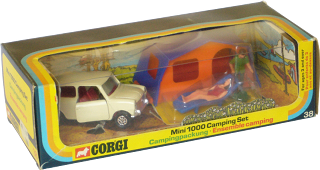 Mini 1000 camping set Corgi-Toys