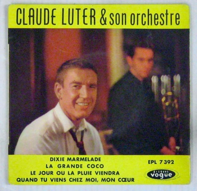 LUTER CLAUDE - Dixie Marmelade - 45T (EP 4 titres)