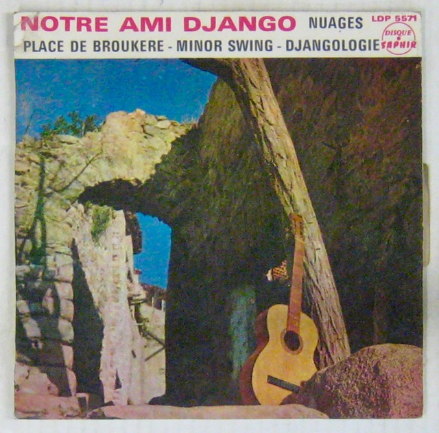 ARTISTES DIVERS - Notre ami Django - Hommage de ses amis - 45T (EP 4 titres)