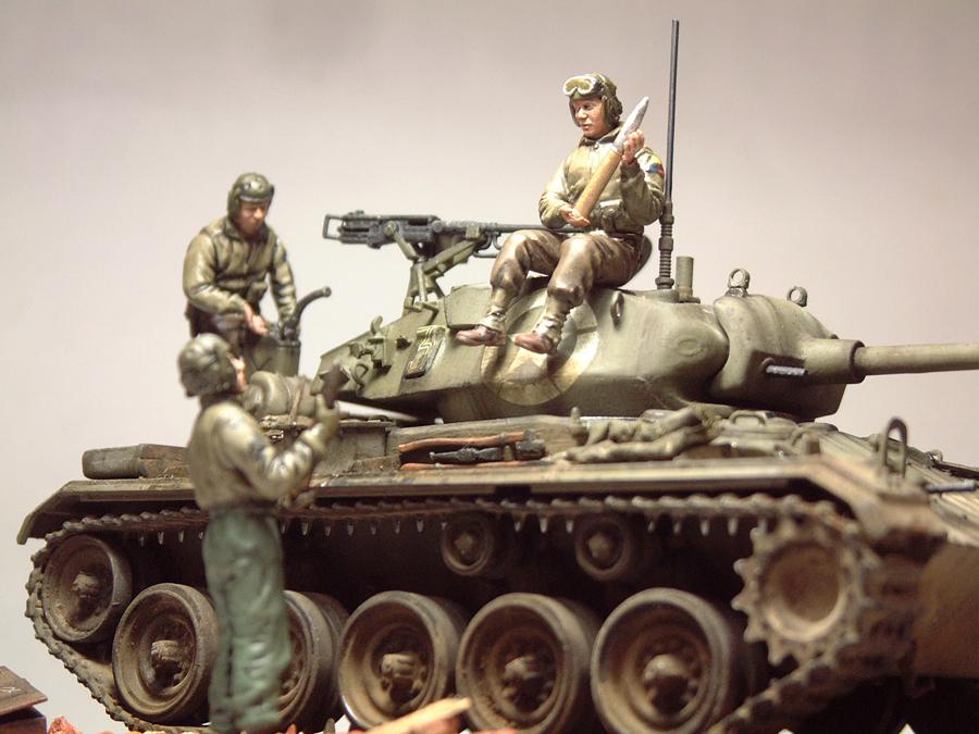 M-24 Chaffee - 1/35e - [Italeri] 1703220619394769014938712
