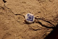 Album FRANC-MAçONNERIE bouton en porcelaine SYMBOLES COMPAS ESOTERISME FRANC-MAçON - Image IMG_
