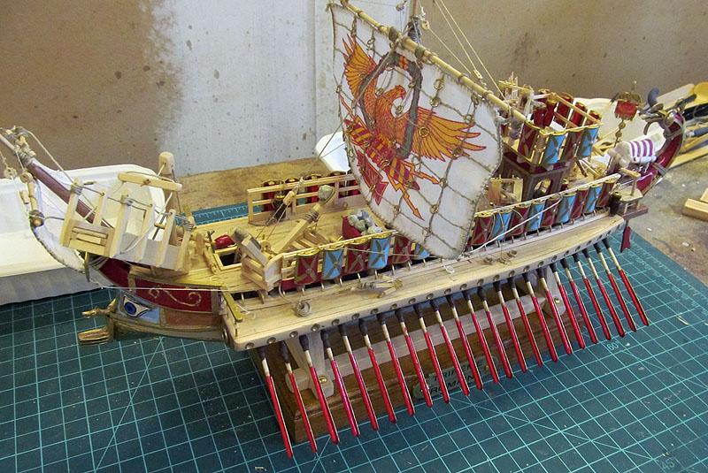 Construction d'une trirème romaine - 1/72 - Scratch - Page 5 17032405162418121214942557