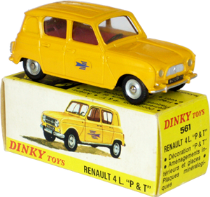 Renault 4L P&T Dinky-Toys