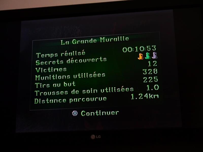 Sur PlayStation : TR2 complet (avec tous les secrets)  en moins de cinq heures 17033112085820259514954703