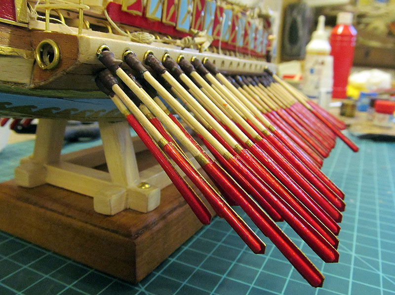Construction d'une trirème romaine - 1/72 - Scratch - Page 5 17040207054818121214960425