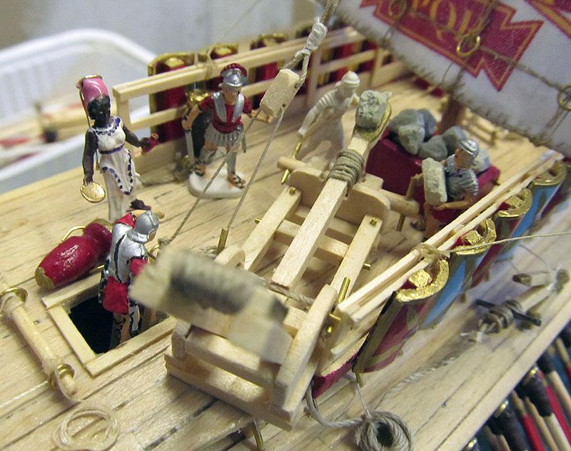 Construction d'une trirème romaine - 1/72 - Scratch - Page 5 17040207055618121214960430