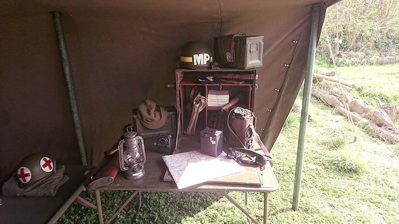 Camp de Baisy-Thy lors du rallye Télévie 2017 17041011270222700614975357