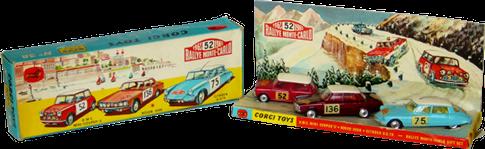 Rally Monte-Carlo Gift Set Corgi-Toys