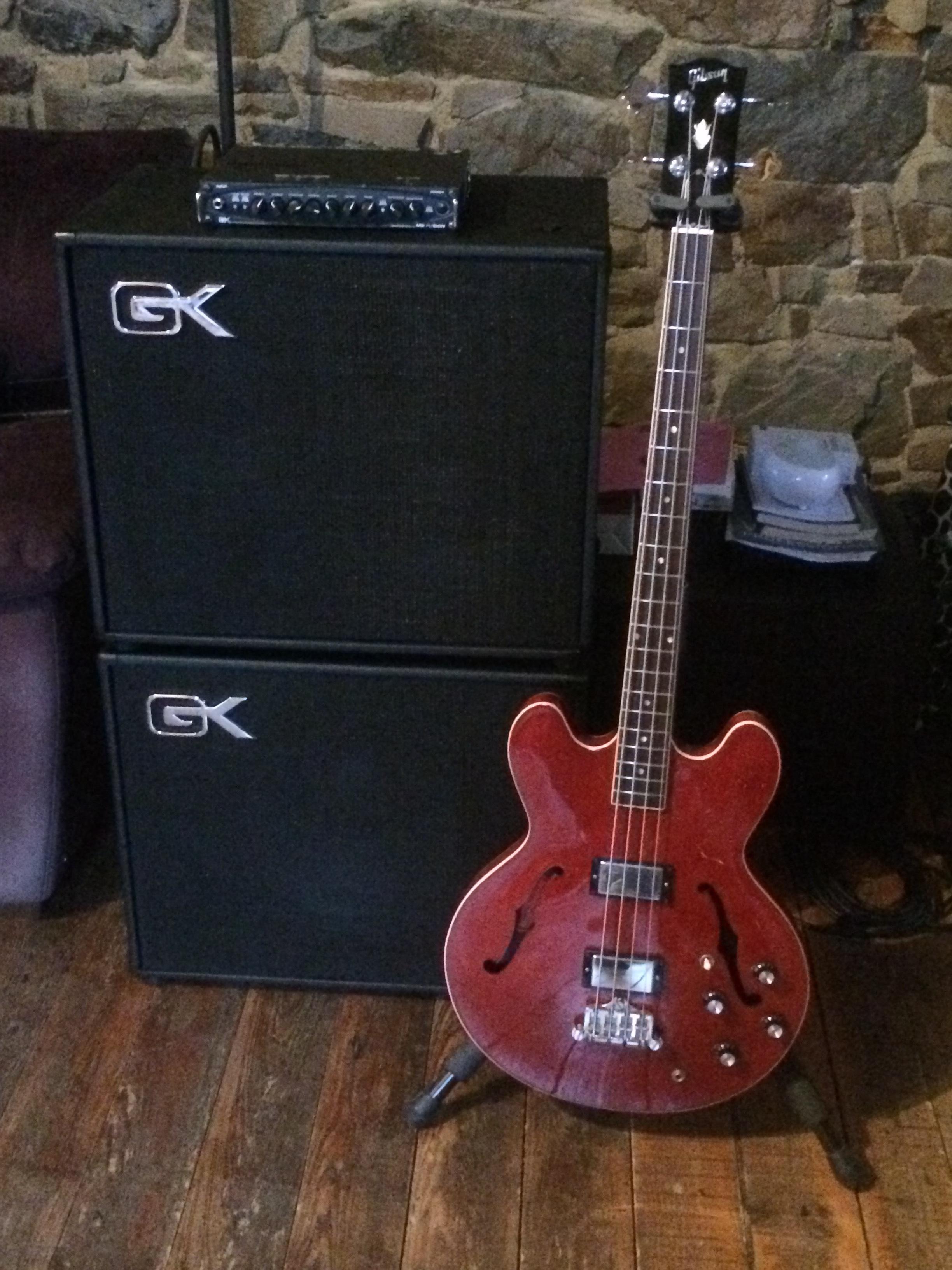 GK + Gibson ES335
