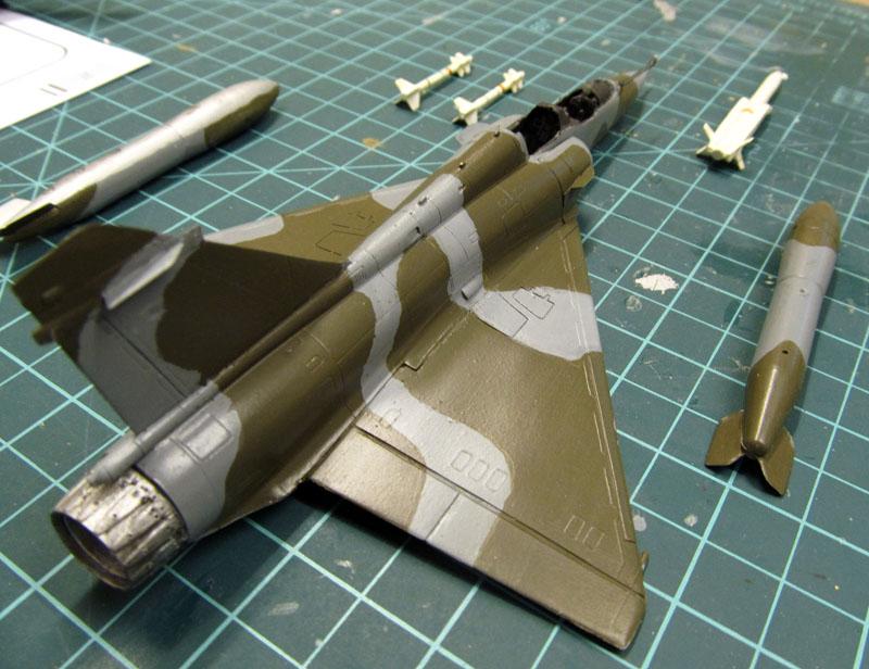 Arrivée du Mirage 2000 N au 2/4 - 01/07/1989 - 1/72 (Modèle terminé) 17050806355018121215027066