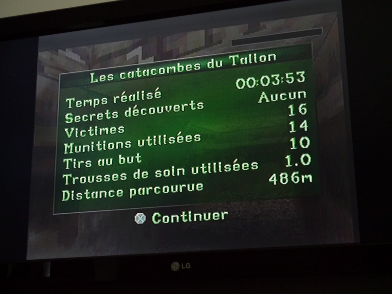 PlayStation : TR2 en 2 h et 42 min 17050810594120259515025809