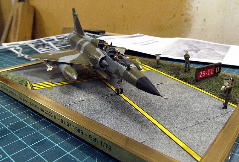 Arrivée du Mirage 2000 N au 2/4 - 01/07/1989 - 1/72 (Modèle terminé) 17051305052518121215039323