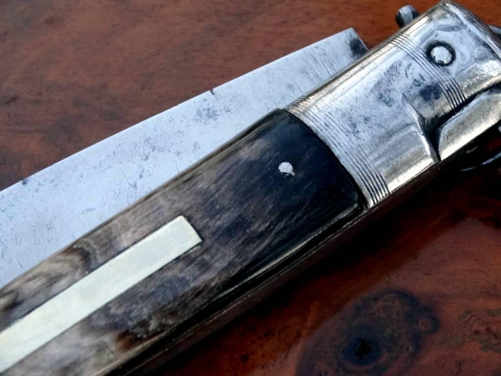 Superbe ancien couteau solognot de ch tellerault chasse - Je reste a votre disposition pour toutes informations complementaires ...
