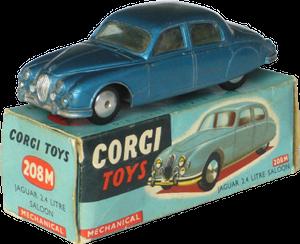 Jaguar 2.4 L Corgi-Toys
