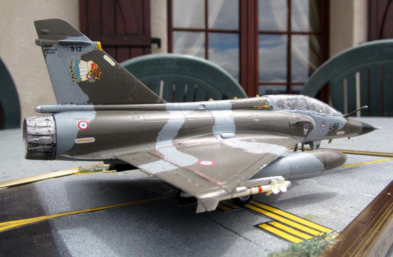 Arrivée du Mirage 2000 N au 2/4 - 01/07/1989 - 1/72 (Modèle terminé) 17052002531518121215051372