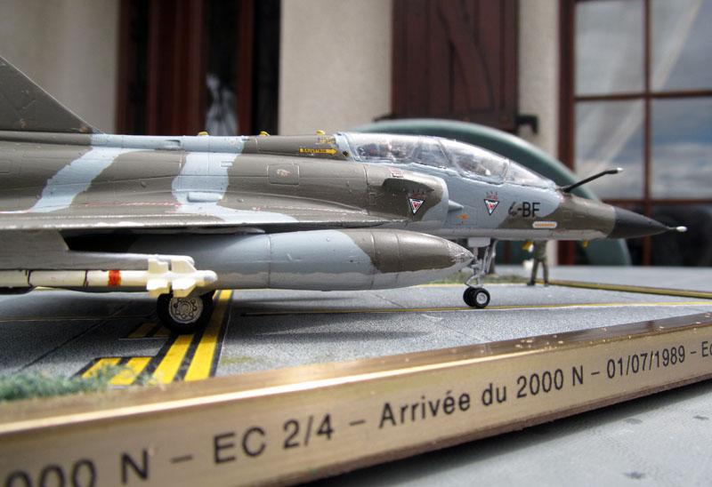 Arrivée du Mirage 2000 N au 2/4 - 01/07/1989 - 1/72 (Modèle terminé) 17052002532118121215051376