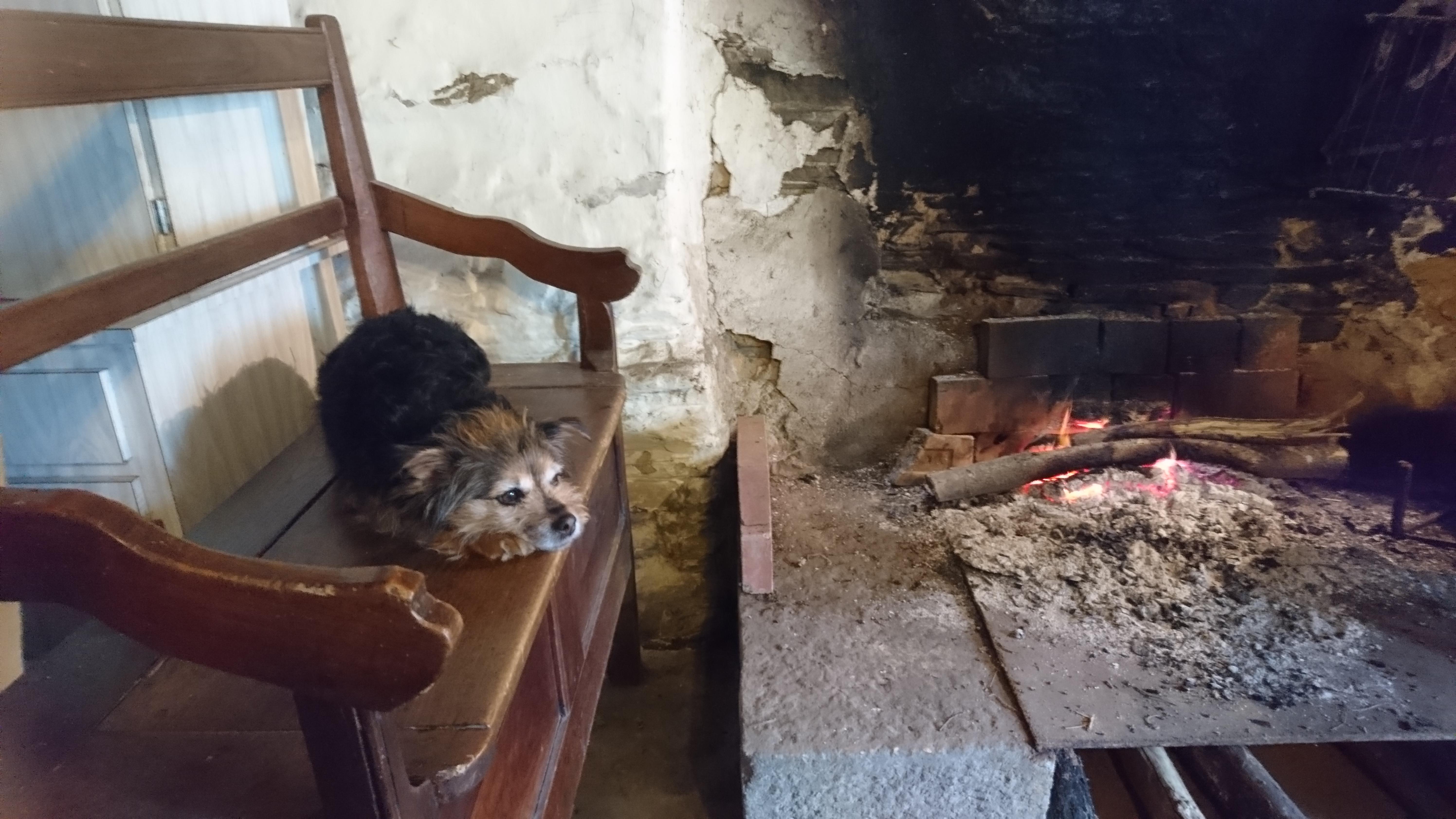 repos au coin du feu