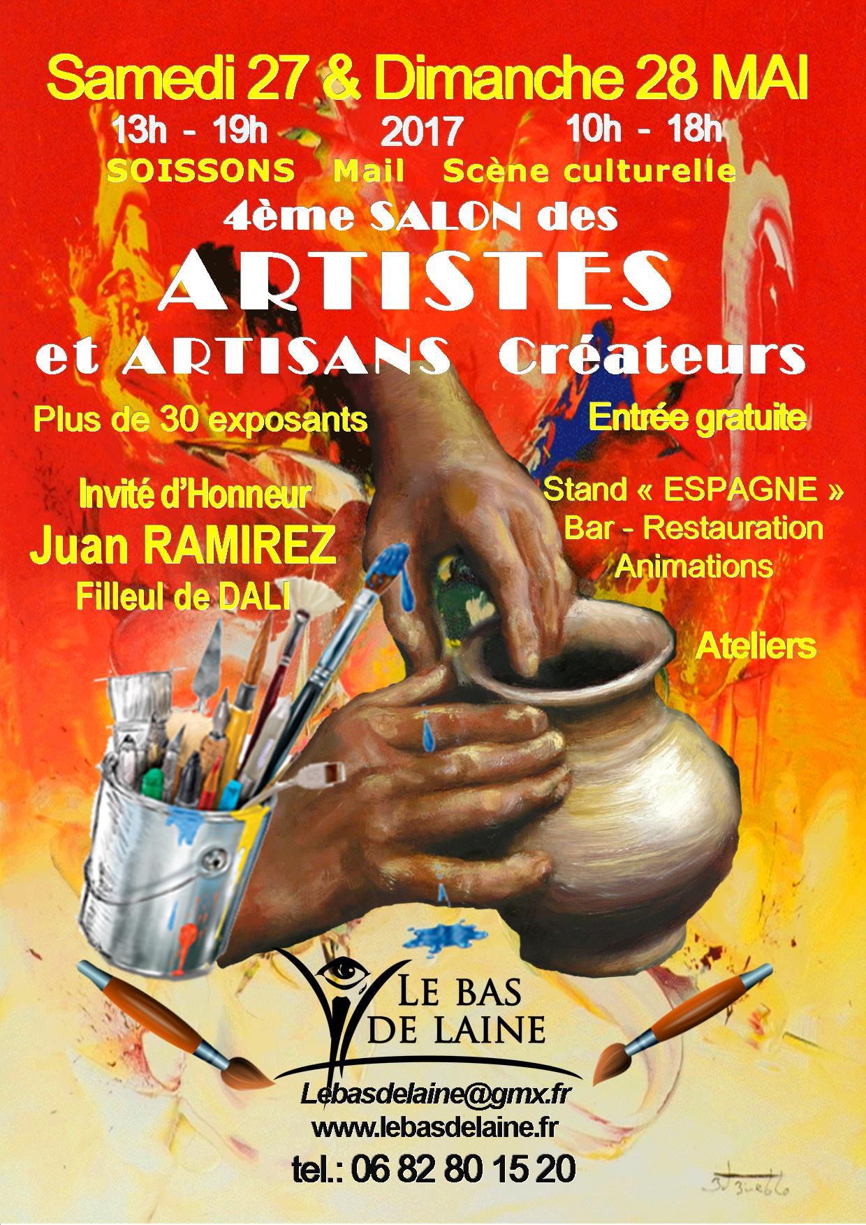 Soissons ma ville 4 salon des artistes et artisans cr ateurs - Entree gratuite salon de l agriculture ...