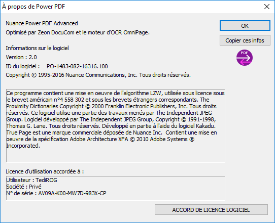 Nuance Power Advanced 17052804123617048915