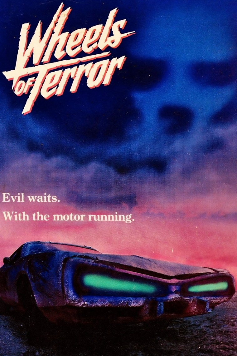 L'AFFICHE : WHEELS OF TERROR (1990) dans CINÉMA 17060507241315263615076429