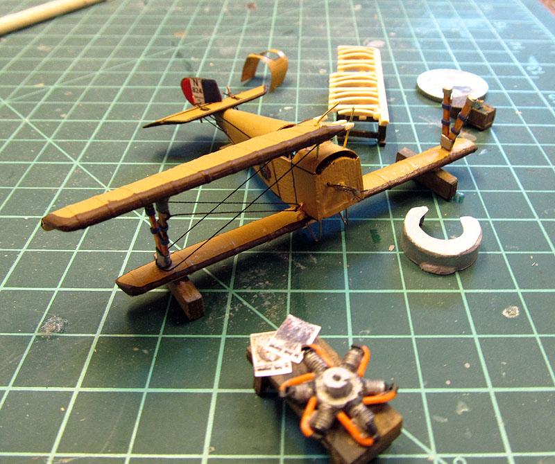 Champ d'aviation le 11 septembre 1917 - 1/72 17060507440318121215078545
