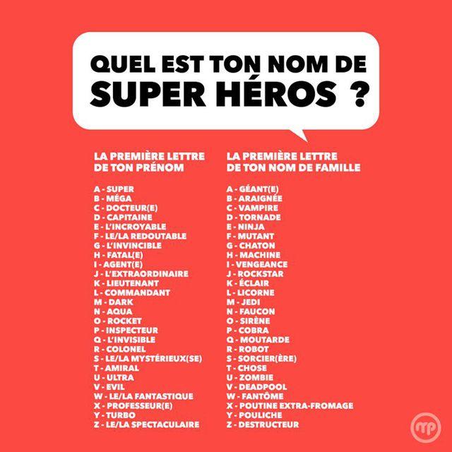 Extrêmement fairytopia • Afficher le sujet - ton nom de super héros EM15