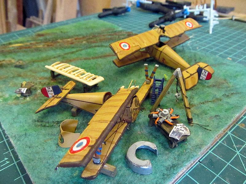 Champ d'aviation le 11 septembre 1917 - 1/72 17061102583018121215089054