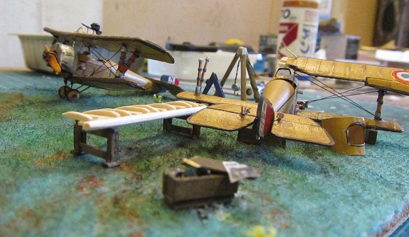 Champ d'aviation le 11 septembre 1917 - 1/72 17061102583318121215089056