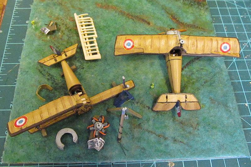Champ d'aviation le 11 septembre 1917 - 1/72 17061102583618121215089058