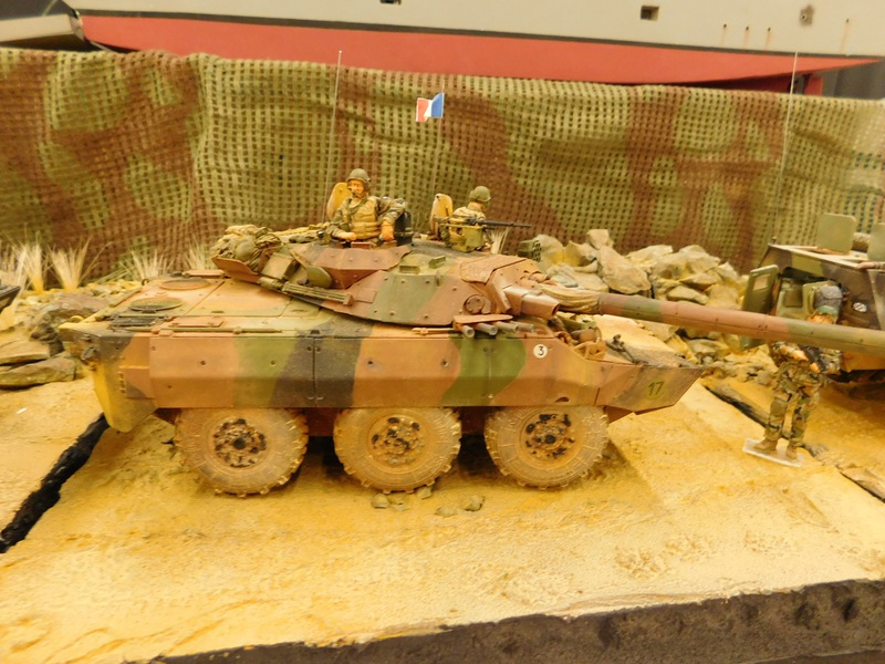AMX 10 RC ,Direction Bagdad ! (Tiger models 1/35)Fini 1706190811036230015101905