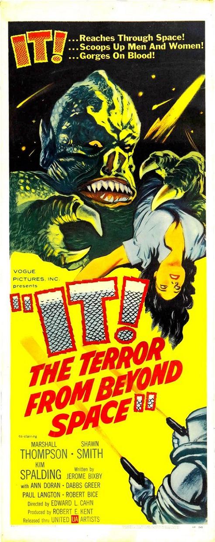 POSTEROÏDE - It ! The Terror from Beyond Space dans Cineteek 17062608293515263615113101