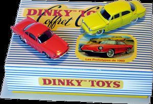 Coffret Prototypes Dinky-Toys 1960 Atlas
