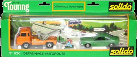 """Coffret Touring """"dépannage autoroute"""" Solido"""