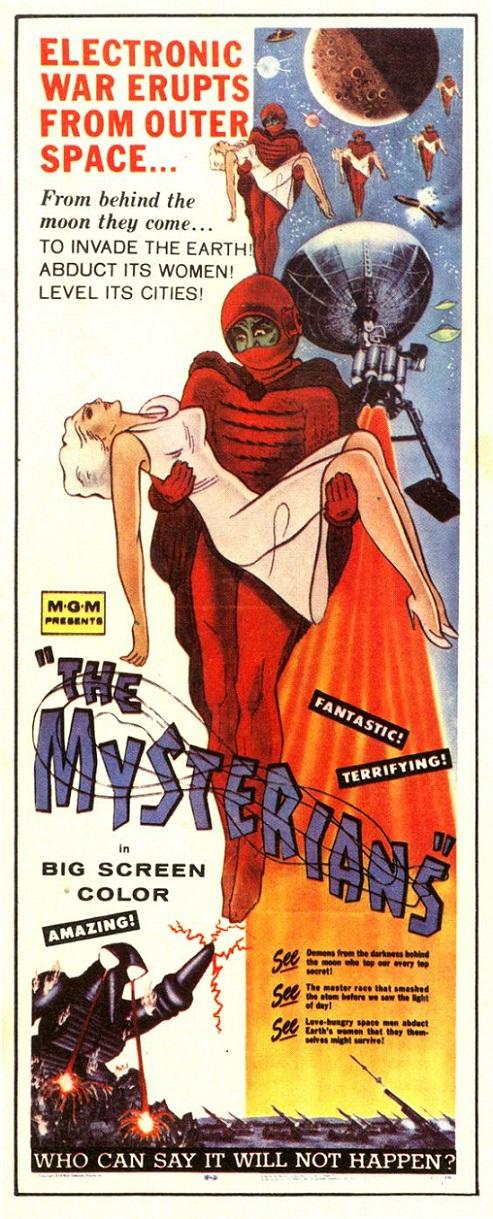 POSTEROÏDE - The Mysterians dans Cineteek 17070202581515263615125260