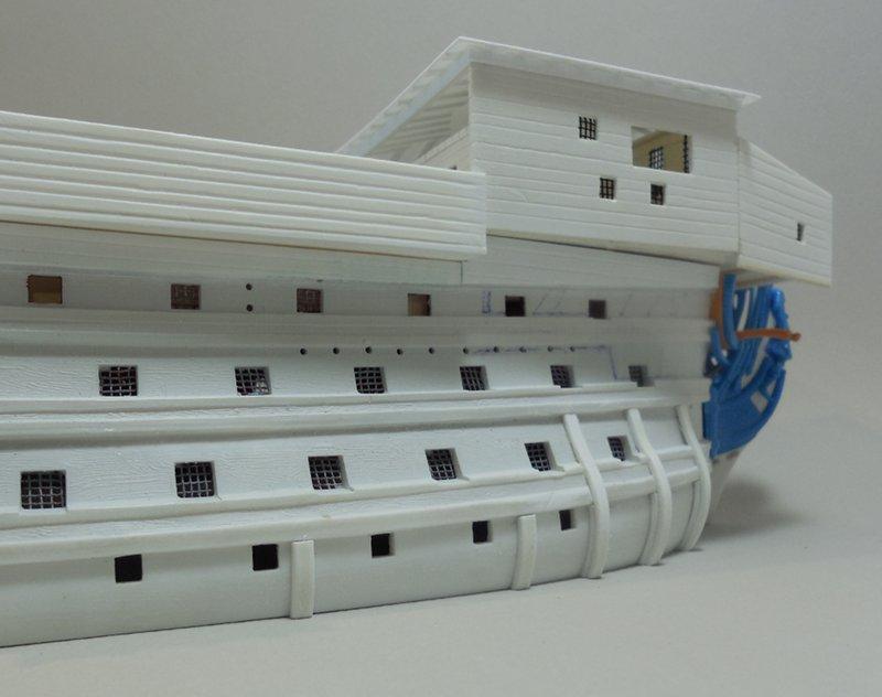 Un ponton prison anglais de la Révolution ou de l'Empire 1/200 sur base HELLER - Page 4 17070607393823099315135057