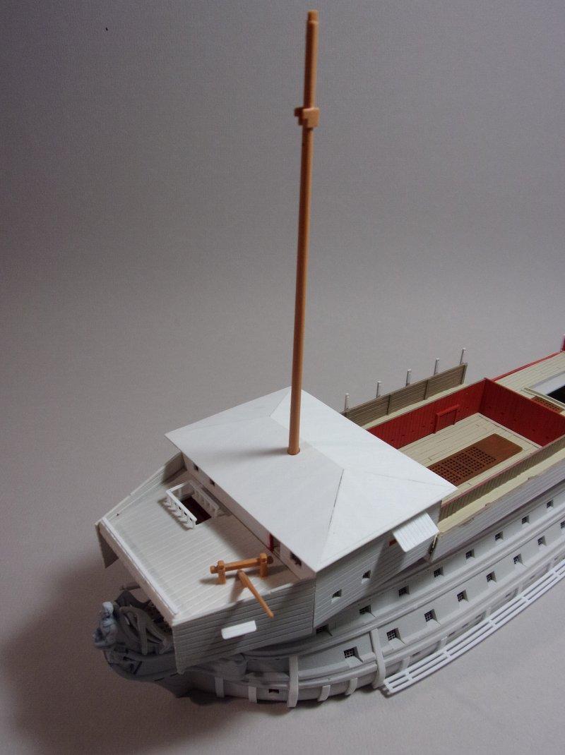 Un ponton prison anglais de la Révolution ou de l'Empire 1/200 sur base HELLER - Page 4 17070607410723099315135066