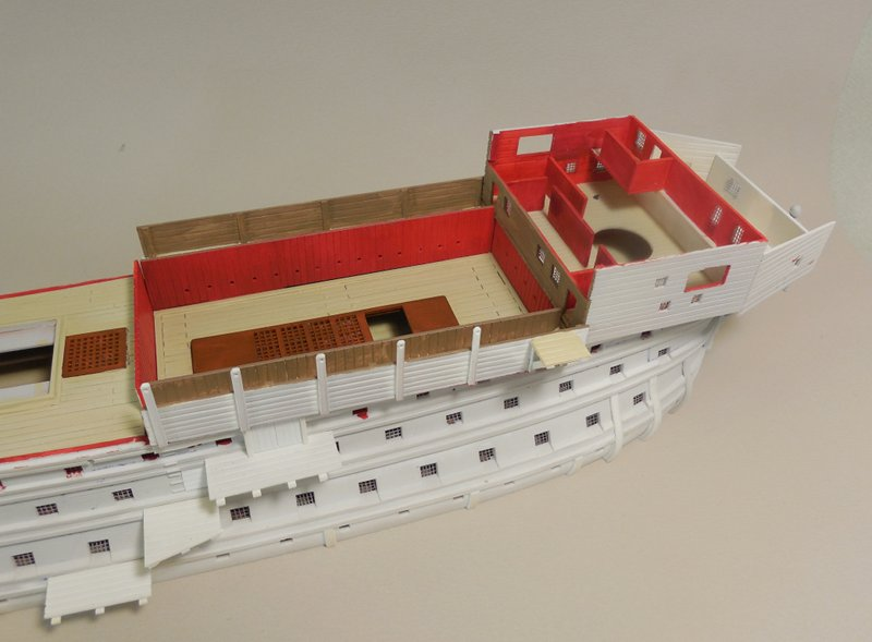 Un ponton prison anglais de la Révolution ou de l'Empire 1/200 sur base HELLER - Page 4 17070607411023099315135070