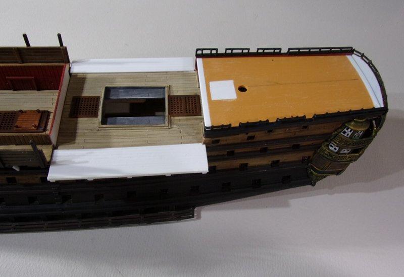 Un ponton prison anglais de la Révolution ou de l'Empire 1/200 sur base HELLER - Page 7 17070607462023099315135101